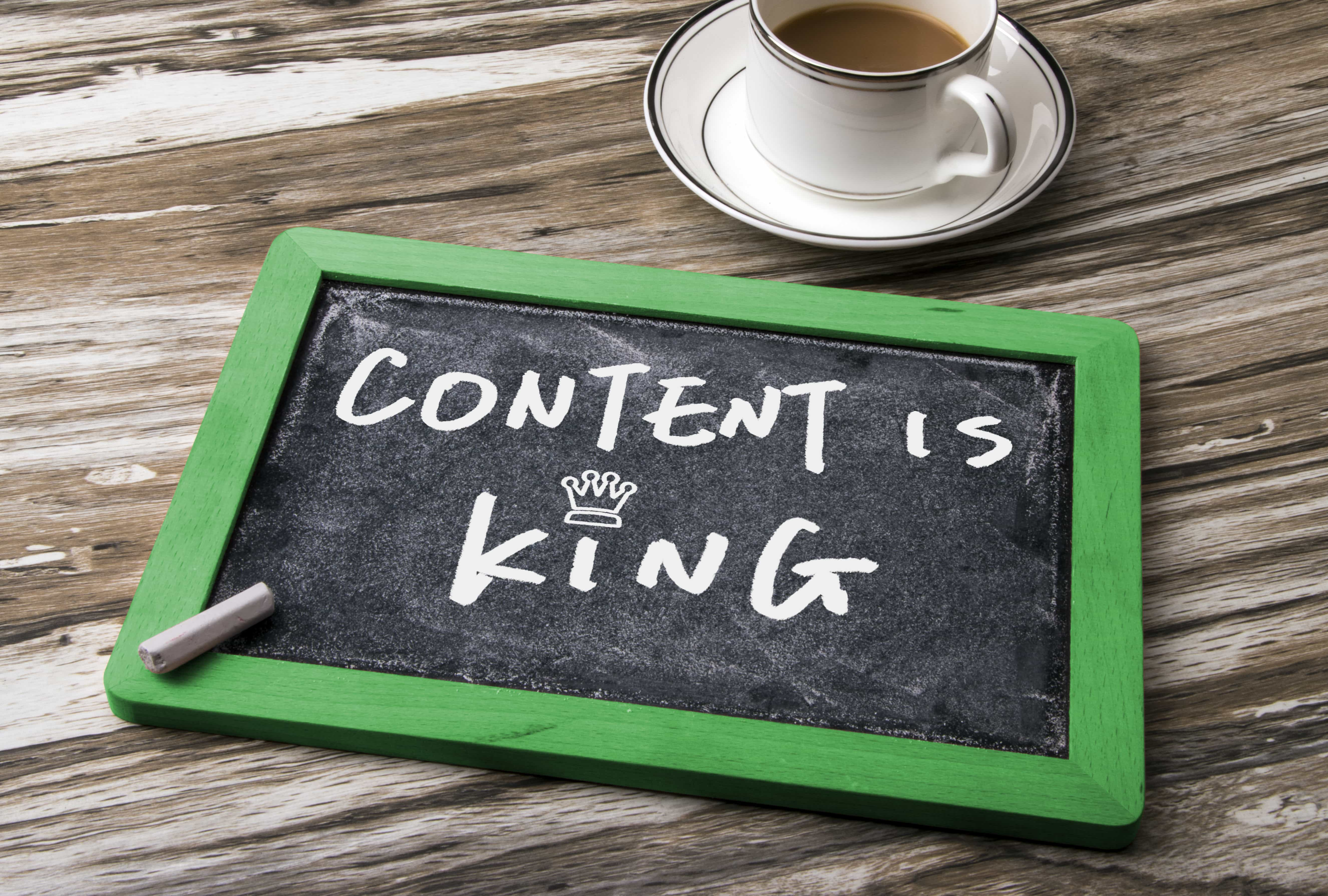 Optimized Content Is The King